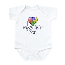 My Autistic Son Infant Bodysuit