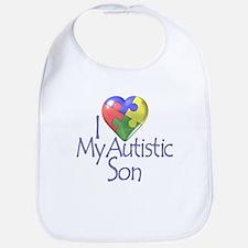 My Autistic Son Bib