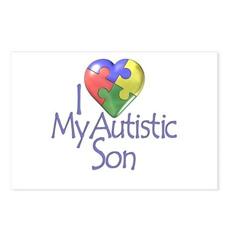 My Autistic Son Postcards (Package of 8)