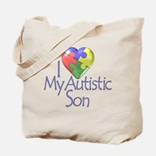 My Autistic Son Tote Bag