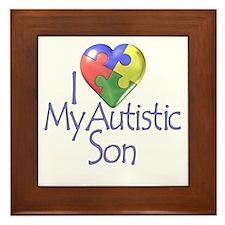 My Autistic Son Framed Tile