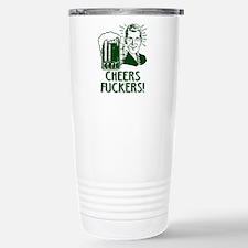 Unique St patrick%27s irish green beer drinking Travel Mug