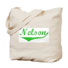 Nelson Vintage (Green) Tote Bag