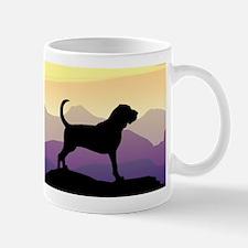Bloodhound Purple Mountain Mug