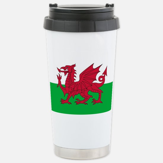 Flag of Wales Stainless Steel Travel Mug
