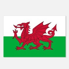 Flag of Wales Postcards (Package of 8)