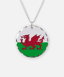 Flag of Wales Necklace