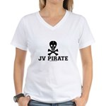 JV Pirate Women's V-Neck T-Shirt