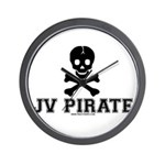 JV Pirate Wall Clock