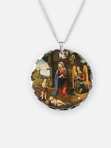 Christmas Nativity Necklace