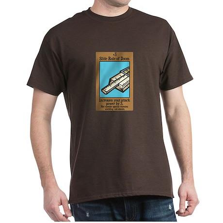 Slide Rule of Doom Dark T-Shirt