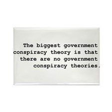 Conspiracy Rectangle Magnet