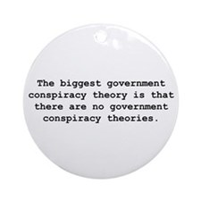 Conspiracy  Ornament (Round)