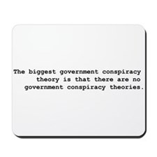 Conspiracy  Mousepad