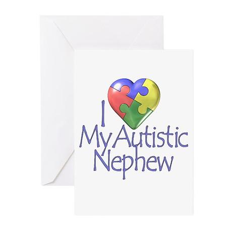 My Autistic Nephew Greeting Cards (Pk of 10)