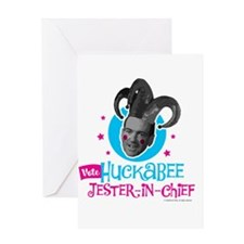 Jester Huck Greeting Card