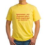 Ignoranus Yellow T-Shirt
