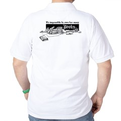 Impossible To Own Too Many Books T-Shirt