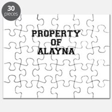 Property of ALAYNA Puzzle