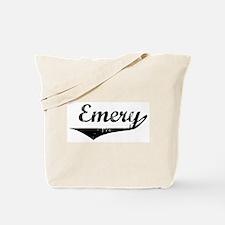 Emery Vintage (Black) Tote Bag