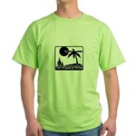 Left My Heart In Tortuga Green T-Shirt