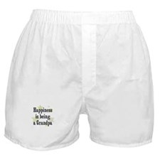 Happiness is being a Grandpa Boxer Shorts