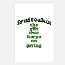 Funny Fruitcake Joke Postcards (Package of 8)