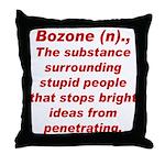 Bozone Throw Pillow