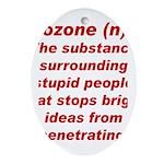Bozone Oval Ornament