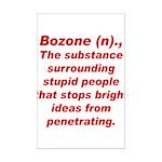 Bozone Mini Poster Print