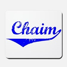 Chaim Vintage (Blue) Mousepad