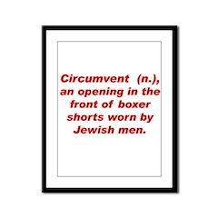 Circumvent Framed Panel Print