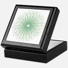 Green Spiral Keepsake Box