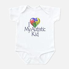 My Autistic Kid Infant Bodysuit