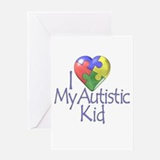 My Autistic Kid Greeting Card