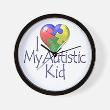My Autistic Kid Wall Clock