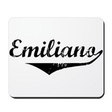 Emiliano Vintage (Black) Mousepad