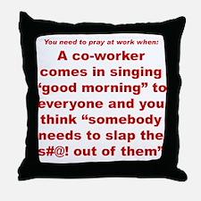 Prayer 1 Throw Pillow