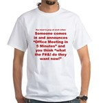 Prayer 2 White T-Shirt