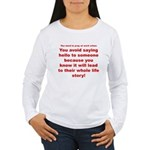 Prayer3 Women's Long Sleeve T-Shirt