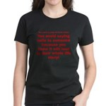 Prayer3 Women's Dark T-Shirt