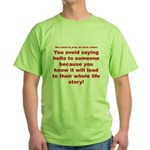 Prayer3 Green T-Shirt