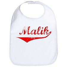 Malik Vintage (Red) Bib