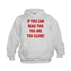 If You Can Read This Kids Hoodie