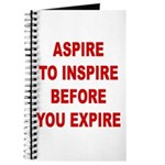 Aspire Inspire Expire Journal