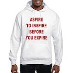 Aspire Inspire Expire Hooded Sweatshirt
