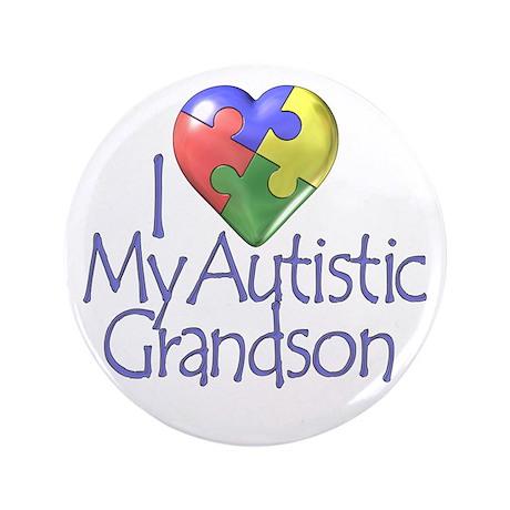 "My Autistic Grandson 3.5"" Button"