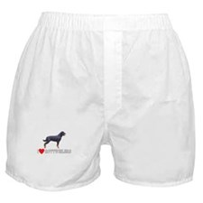 I Love Rottweilers Boxer Shorts