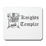 Knights Templar Shield Mousepad