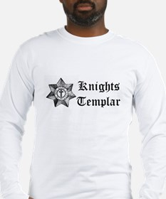 Knights Templar Medal Long Sleeve T-Shirt